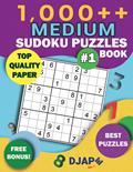 1,000++ MEDIUM Sudoku Puzzles Book