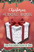 Christmas Sudoku Book Large Print