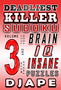 Deadliest Killer Sudoku, volume 3