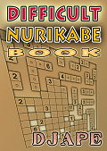 Difficult Nurikabe book