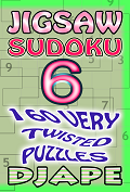Jigsaw Sudoku book, volume 6