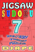 Jigsaw Sudoku book, volume 7