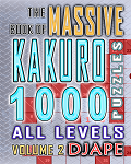 Massive Book of Kakuro 1000 puzzles (Volume 2)