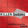 Killer Sudoku for Kindle, deadliest puzzles