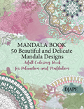Beautiful and Delicate Mandala Book