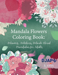 Mandala Flowers Coloring Book