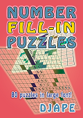 Number Fill In puzzles book