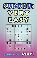 Sudoku book Very Easy puzzles