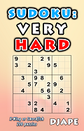 Sudoku book Very Hard puzzles