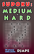 Sudoku Medium Hard book