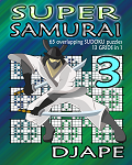 Super Samurai Sudoku book, volume 3