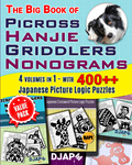 The Big Book of Picross 400 Nonograms Puzzles