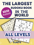 The Largest Sudoku Book in The World 2525 puzzles
