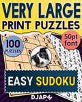 Very Large Print Puzzles   Easy Sudoku