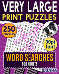 Very Large Print Puzzles   Word Searches